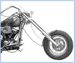 Picture of 13° Gabelbrückenset H.D.-Softail / Big Twin