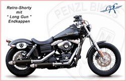 "Picture of Penzl ""Retro Shorty"" / Dyna/Street Bob / schwarz / Bj. 04-07"