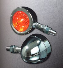 Picture of Bullet Blinker / chrom / konisches Glas
