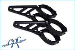 Picture of CNC Alu-Lampenhalter Set / 50+52+54 mm / schwarz