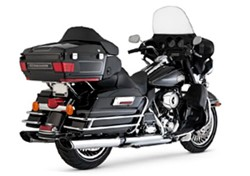 "Bild von Auspuffanlage VANCE & HINES Slip On ""Twin-Slash"" 2009 - 2013 m. ABE"