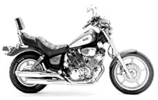 "Picture of Auspuffanlage Classic II Vance & Hines ""Slash-Cut"" f. XV 750 / 1100 Virago / Bj. 84-99"