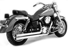 "Picture of Auspuffanlage Vance & Hines ""Longshot"" f. VN 1500/ 1600 CL + MS"