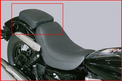 Picture of Pillion Pad f. Honda VT 750 Shadow RC50