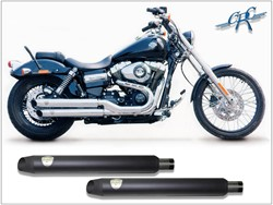 "Picture of Penzl ""Neo Classic"" / Fat Bob+Wide Glide/ schwarz / ab 07"