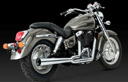"Picture of Auspuffanlage Vance & Hines ""Pro-Pipe 2-1"" f. VT 1100 Shadow Sabre"