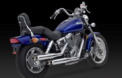 "Picture of Auspuffanlage Classic II Vance & Hines ""Slash Cut"" / für VT 1100 Shadow / Bj. 87-96"