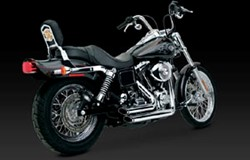 Picture of Auspuffanlage VANCE & HINES ShortShot Staggered / chrom / Dyna Bj.91-05