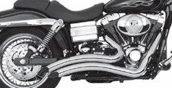 Picture of Auspuffanlage VANCE & HINES Big Radius 2 in 2 / chrom / Dyna