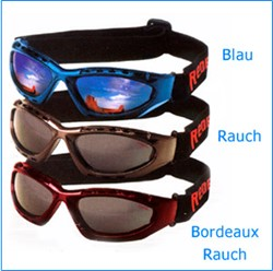 "Picture of Brille "" Goggle Plus "" blau / verspiegelt"