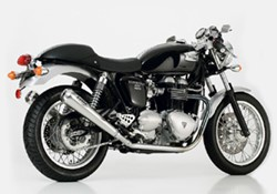 "Picture of Auspuffsystem ""Retro"" Slip On 2-2 Thruxton / ab Bj.08 m.Kat+ABE"