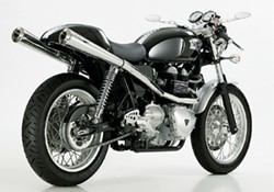 "Picture of Komplettanlage ""Retro High Up"" 2-2 Thruxton / bis Bj.07 m.ABE"