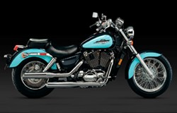 "Picture of Auspuffanlage Classic II Vance & Hines ""Slash Cut"" VT 1100 ACE C2 / ab Bj. 95"