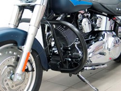 Picture of Motorschutzbügel 38 mm / Schwarz  f.H.D.Softail ab 2007 (Twin Cam 96B)