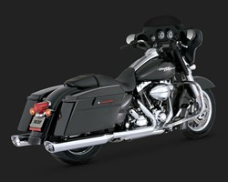 "Picture of Auspuffanlage VANCE & HINES Slip On ""Monster OVAL"" 2014 - 2016 / chrom / mit ABE"