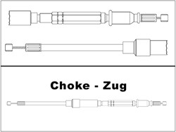 Picture for category Choke Züge stahlflex