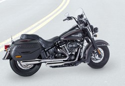 "Bild von Jekill & Hyde E3 + E4 ""Shorty""/ chrom / Softail"