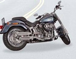 "Bild von Jekill & Hyde  E3 + E4 ""Shorty"" chrom / Softail Modelle"