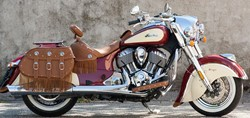 "Bild von Penzl ""V2-SPEED"" E4/  INDIAN / CHIEF VINTAGE / CHIEFTAIN / CHIEFTAIN DARK HORSE / SCHWARZ / AB Bj. 2017"